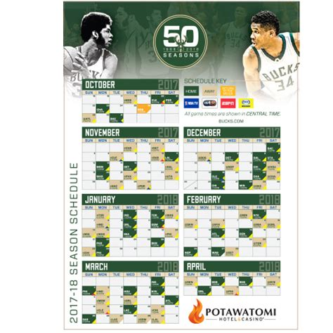 Milwaukee Bucks Giveaways 2017 - 2017 bucks giveaway schedule milwaukee bucks