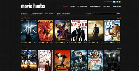 blogger templates for movie site 30 free premium css xhtml website templates freebies