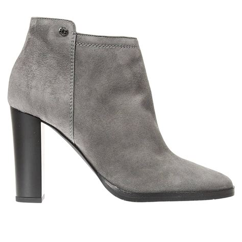 jimmy choo ankle boots in grey grey save 50 lyst