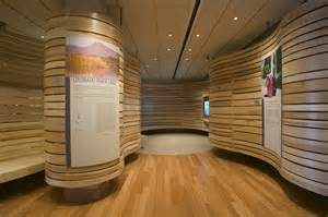 curved walls curved wood walls integrated panels design it pinterest