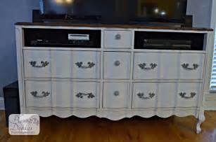 converting a dresser into a tv stand plum doodles