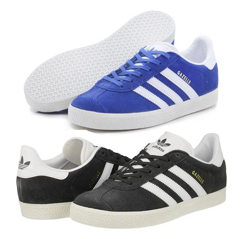 adidas boys gazelle originals casual suede classic shoes trainers ebay