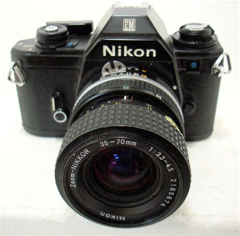 small nikon nikon em analog small frame catawiki