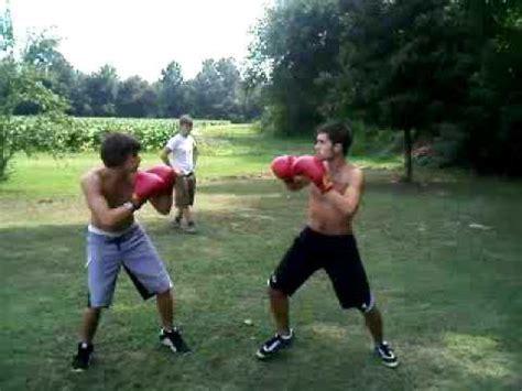 hc backyard boxing quot derrick v hamton quot round 3 fight 3