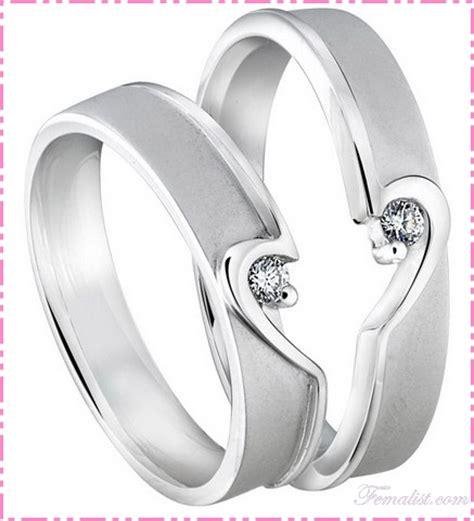 Satu Pasang Cincin Elegan Cincin Terbaru 11 Cincin Tunangan Cantik Tips Memilih Model Cincin Kawin