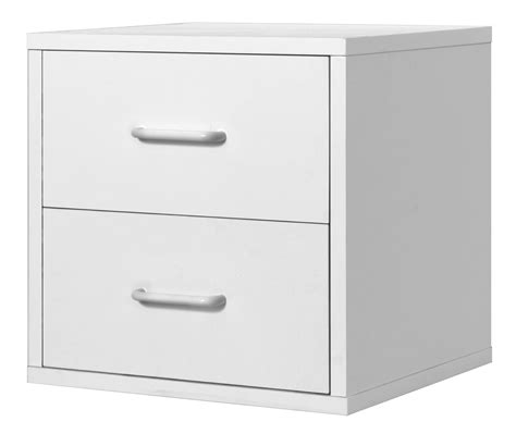 cube storage with drawers 2 drawer cube white home storage organization