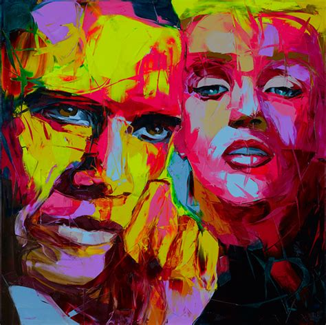 francoise nielly biography in english portraits on behance
