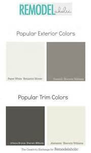 how to paint colors remodelaholic exterior paint colors that add curb appeal