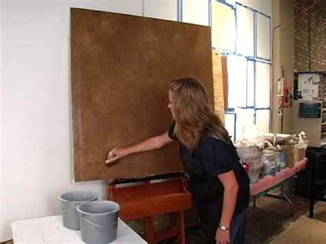 Faux Finish Techniques the smush a metallic paint faux finishing technique youtube