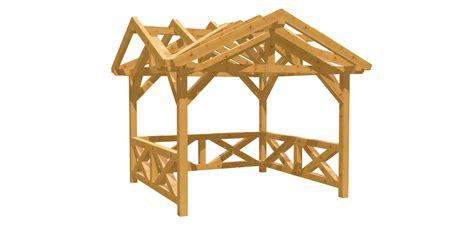 bauplan pavillon gartenpavillon selber bauen holz bauplan de