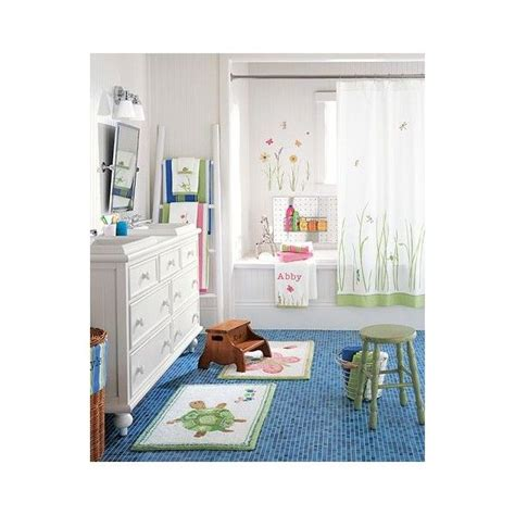 pottery barn kids bathroom ideas spring meadow bath pottery barn kids found on polyvore