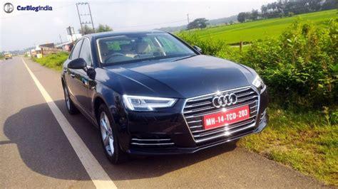 audi india new model 2016 audi a4 india price 38 lakhs