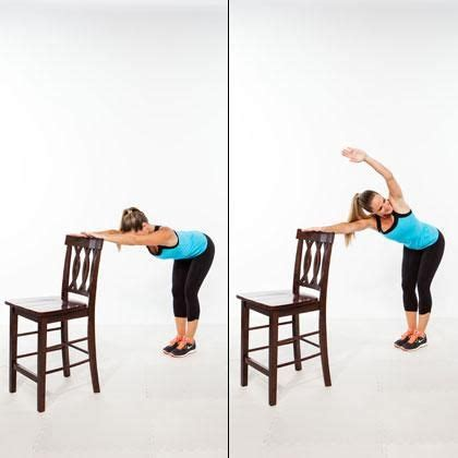 stand   flat abs chair workout flats  shape