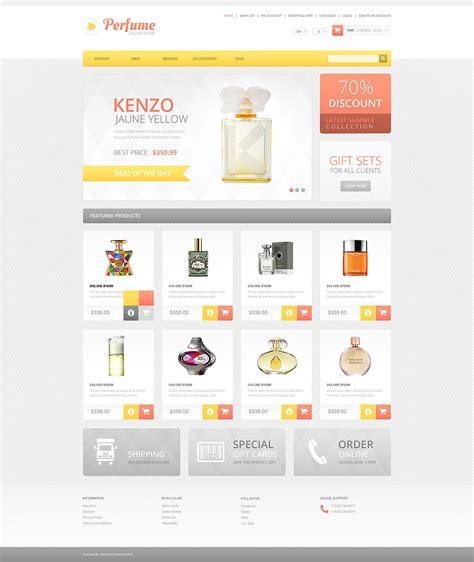 os commerce templates cosmetics store oscommerce template 54956