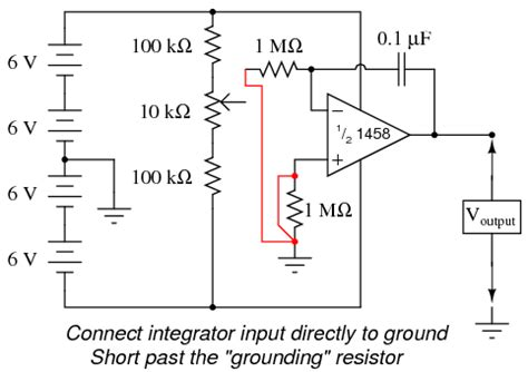 input of integrator op lessons in electric circuits volume vi experiments chapter 6