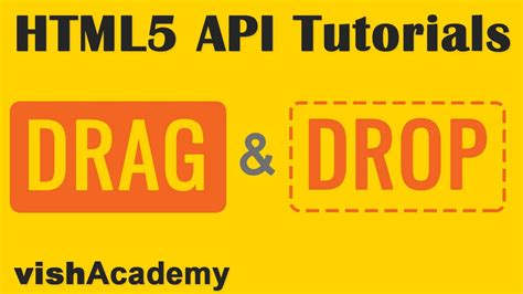 6 how to create drag drop using html5 tutorials create draggable elements html5 drag and drop api