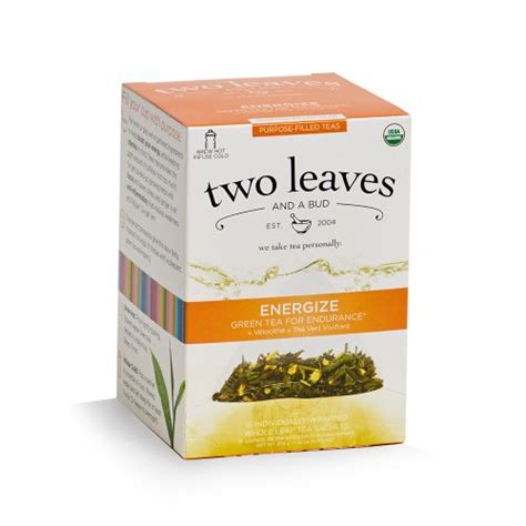 Two Leaves And A Bud Detox Tea by Two Leaves And A Bud Tea