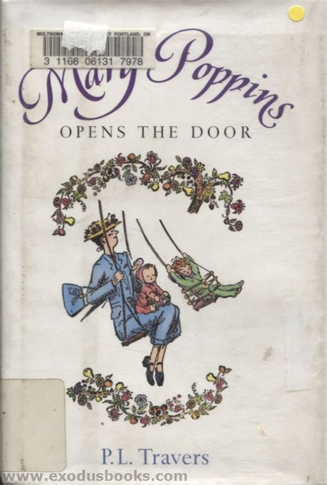 libro mary poppins opens the mary poppins opens the door exodus books