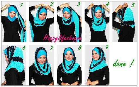 tutorial pashmina silang video cara pakai shawl silang oh kiji sumber bacaan