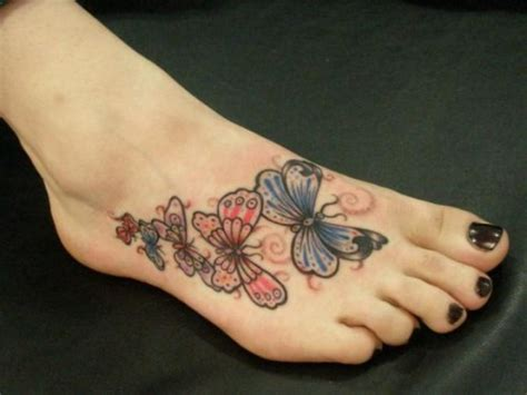 butterfly tattoo foot pictures fashion world latest updates foot tattoo designs