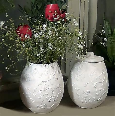 paper mache ideas for home decor home dzine craft ideas make these easy paper mache pots