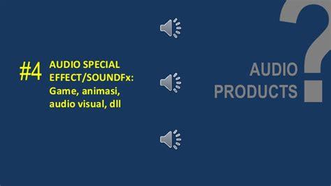 elemen membuat iklan audio visual elemen audio dalam multimedia