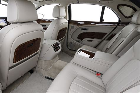White Bentley Interior by Bentley Mulsanne 2011 More Dynamic And Fuel Economic