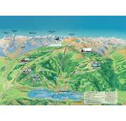Hiking Map Schmittenh&246he  Trails In Zell Am See
