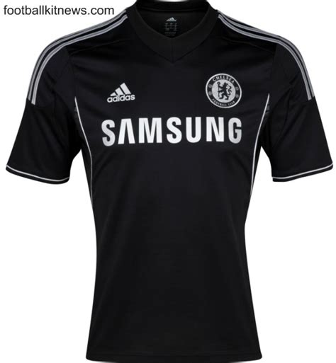 Chelsea Black Shirt new chelsea third kit 2013 2014 adidas cfc black shirt 13