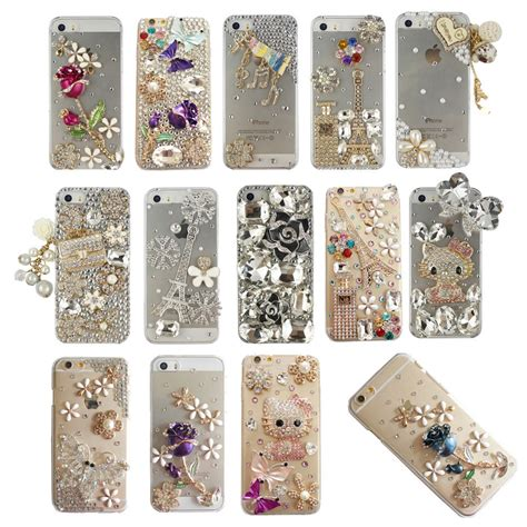 Bling Casse rhinestone bling luxury deco 3d for iphone 5 6 7 plus lcr001 10 ebay