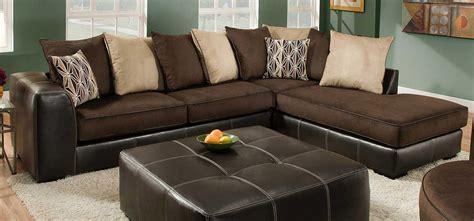 san marino chocolate 2pc sectional sofa chelsea home mclean 2 pc sectional sofa chf 75e388 6365 at