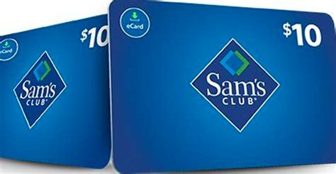 Can You Use A Sam S Gift Card At Walmart - free 10 sam s club gift card for existing members coupons 4 utah
