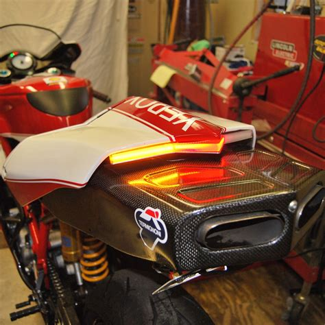 Ducati 749 Sticker by Ducati 749 Tidy Fender Eliminator Kit