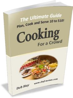 cooking for a crowd 50th birthday party ideas menus and recipes