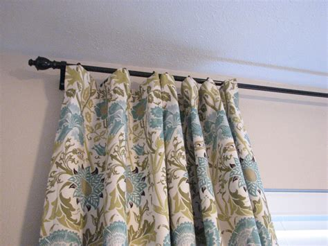 how to tie curtains our nesting ground lined curtain panels and tie back tutorial