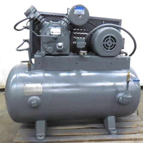 ingersoll rand air compressor type 30 model 242 5c3 5hp motor ser 30t 490875 ebay
