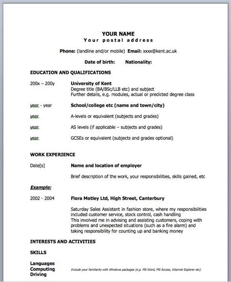one page resume samples 26professional one page 41 one page