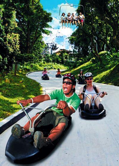 Tiket Sentosa Luge Skyride 1 buy luge skyride sentosa singapore attractions