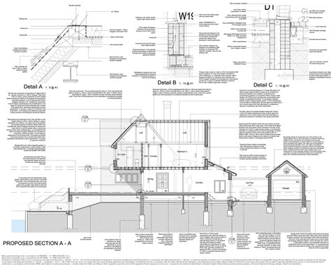 Section Through Dormer Window Mansard Dormer Construction Picture Studio Design