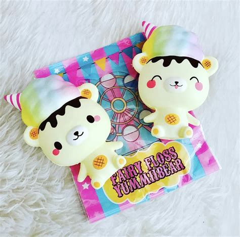 Squishy Jumbo Limited carnival yummiibear cotton floss edition licensed squishies creamiicandy shop