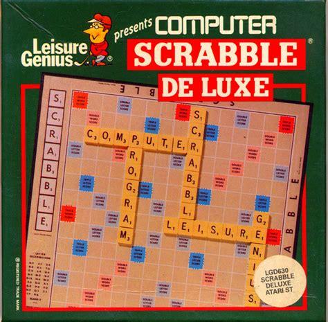 st scrabble atari st computer scrabble de luxe scans dump