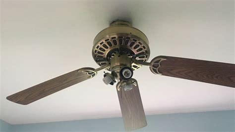 classic ceiling fans quorum 52 quot quot quorum classic quot ceiling fan installation youtube