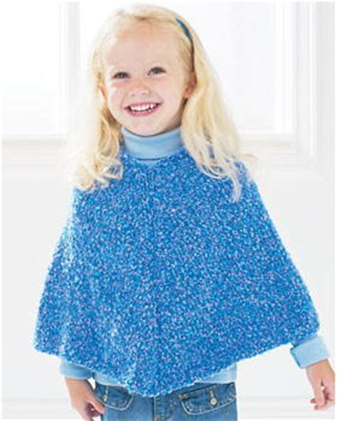 Easy Knit Poncho Favecrafts
