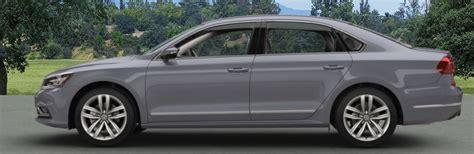 2017 volkswagen passat exterior paint color options