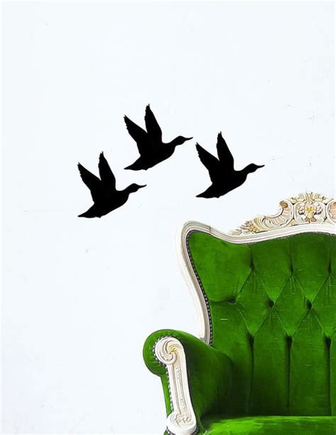 duck wall stickers duck decal decor vinyl wall decal sticker duck by dandidecals