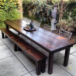 Rustic Patio Table Rustic Outdoor Furniture With Modern Concept Worth To Traba Homes