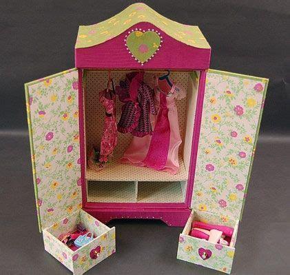 baby doll armoire armoire poupee en cartonnage baby doll boites en carton
