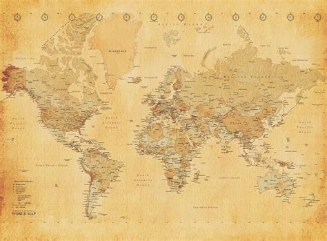 map wallpaper vintage map wallpapers wallpaper cave
