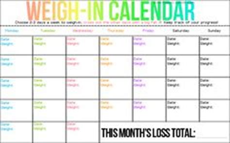 weight loss calendar template 4 best images of weight loss calendar printable weight
