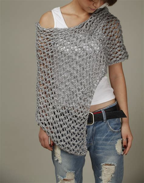 how to knit a scarf left handed knitted cotton poncho grey knit scarf knit